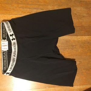 underarmour spandex workout shorts